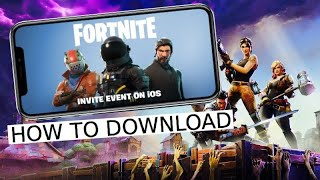 HOW TO GET FORTNITE ON IOS | OFFICIAL APP WITH LINK! **not clickbait** **WITH PROOF**
