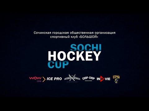 Леопарды - Жемчужина. Прямая трансляция Sochi Hockey Cup 2019-20.