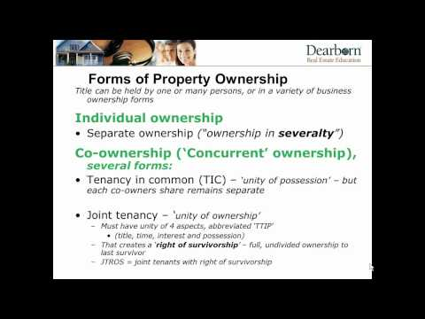 Session 5  - Real Estate Appraisal Principles and Procedures