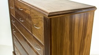 QLine Dresser with secret hidden compartments