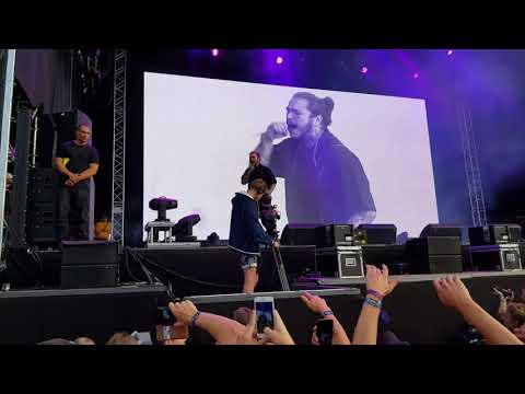 Post Malone - No option (Live at Stavernfestivalen in Norway)