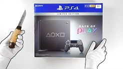"PS4 ""DAYS OF PLAY"" Console Unboxing (2019) Playstation 4 Limited Edition Steel Black"