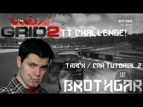 Grid 2 Track and Car Tutorial Brands Hatch Ford Focus ST