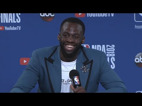 Draymond Green Postgame Interview - Game 2 | Cavaliers vs Warriors | June 3, 2018 | 2018 NBA Finals