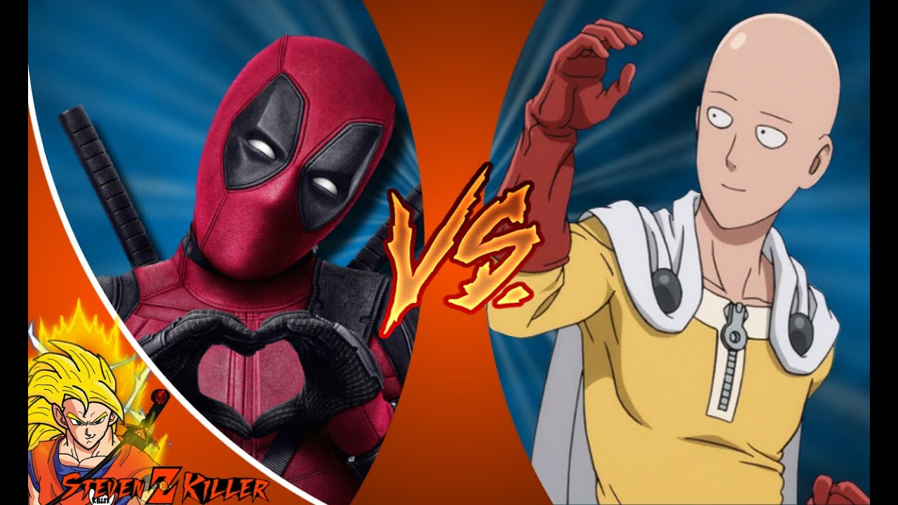 Download DEADPOOL vs ONE PUNCH MAN (SAITAMA)! Cartoon Fight Club Episode 72 REACTION!!!