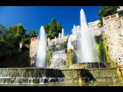 Italie Tivoli Video De La Villa D Este Ses Jardins
