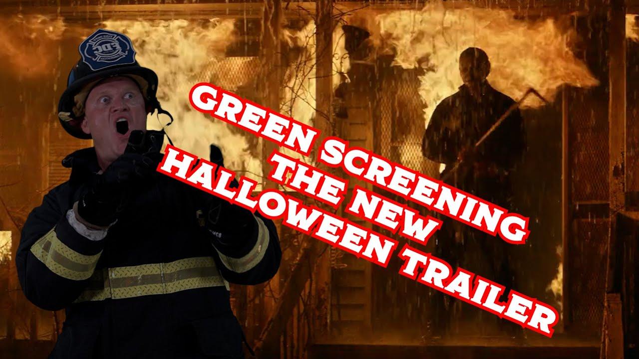 Green screened myself into the new Halloween trailer