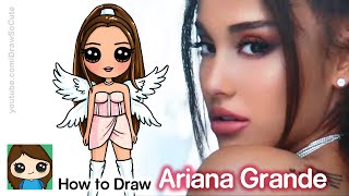 How to Draw Ariana Grande | Don't Call Me Angel Music Video