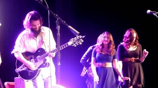 "Seth Bernard, The Crane Wives, Roosevelt Diggs ""This Land is Your Land""  9-27-2013"