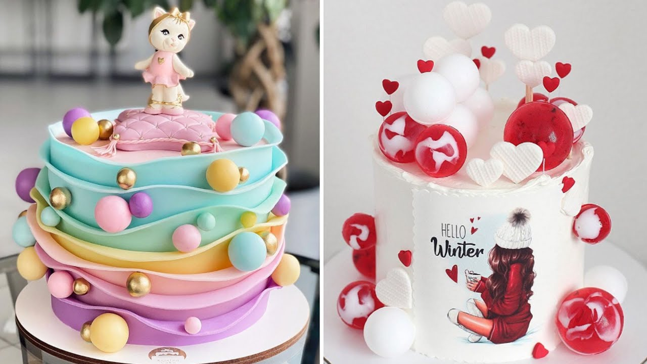 Most Amazing Cake Decorating Ideas | Oddly Satisfying Cakes Compilation Videos
