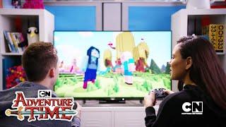 Adventure Time | ATxMinecraft Crossover Episode Sneak Peek | Cartoon Network