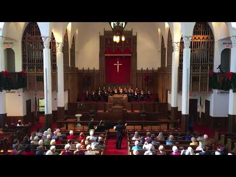 Tyler Junior College Concert Choir sings