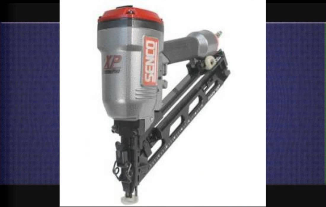 Senco 15 Gauge Finish Nailer - YouTube