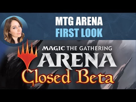 MTG Arena First Look! / Magic: The Gathering