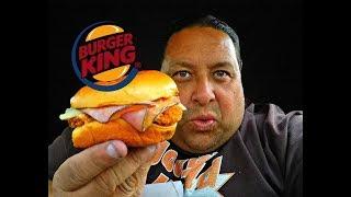 BURGER KING® Chicken Cordon Bleu Review!