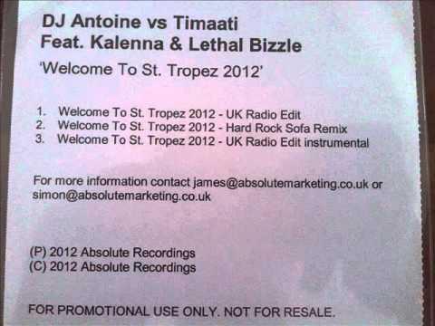 dj antoine welcome to st tropez 2012 uk radio. Black Bedroom Furniture Sets. Home Design Ideas