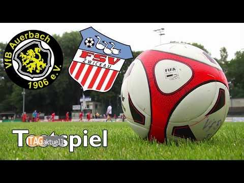 VfB Auerbach testet Drittligist FSV Zwickau