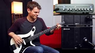 Genzler Amplification Rig Demo by Bassist Nathan Navarro