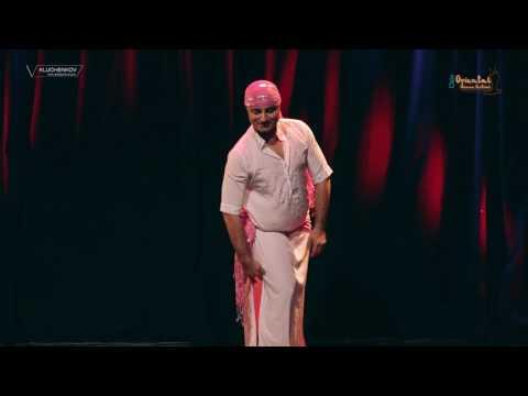 Male Belly Dancer David of Scandinavia, Oslo Oriental Dance Festival 2017
