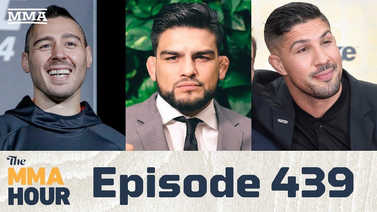 The MMA Hour: Episode 439 (w/ Kelvin Gastelum, Dan Hardy, Brendan Schaub)