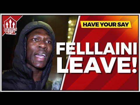 """FELLAINI Wasn't Even FIT!"" Manchester United 1-2 Sevilla FANCAM"