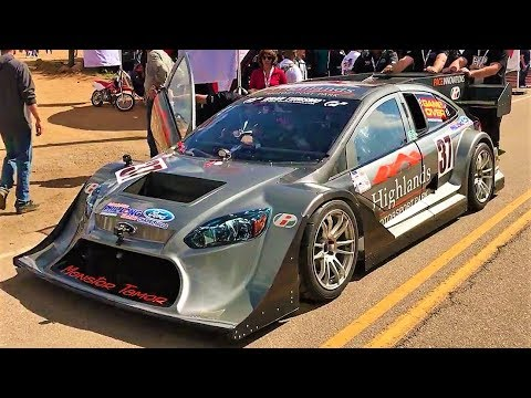 Ford Focus With 850hp Nissan Gt R Engine Pikes Peak 2017 Monster