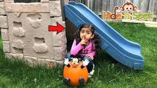 Best Hiding Spot  with Sally at Playground !! kids fun video