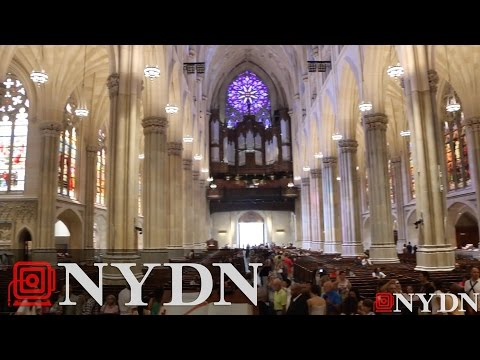 Inside St. Patrick's Cathedral ahead of Pope visit