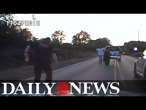 Video shows police shooting unarmed Oklahoma man Terence Crutcher
