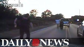 Video shows police shooting unarmed Oklahoma man Terence Crutcher