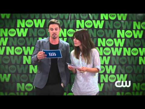 Jay Ryan and Kristin Kreuk answer  Questions