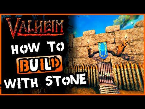 Download Valheim Stone Building   EASY Valheim Castle Build !