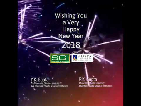 sharda group of institutions New year 2018