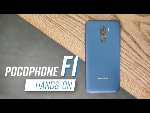 Pocophone F1: Snapdragon 845, gi谩 t岷 trung