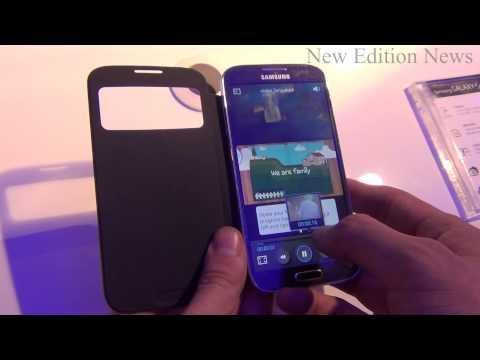 Samsung Galaxy S4 Hands-on - Romanian