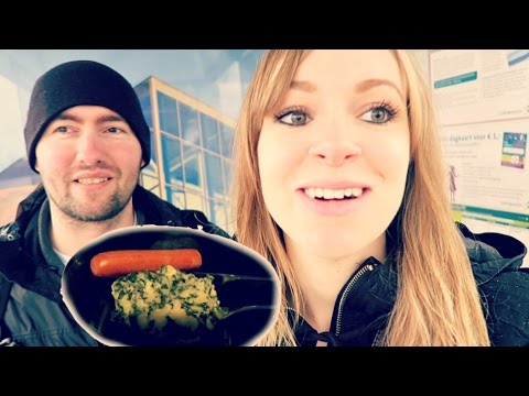 AMERICANS TRY TRADITIONAL DUTCH MEAL! | Steve and Jodi