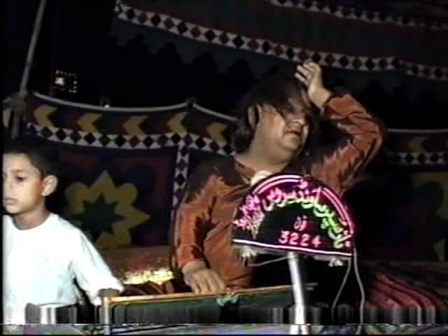 aziz mian qawwal live Kotli roli Azad Kashmir 1991