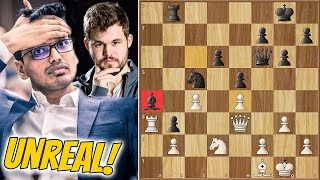 Simple Tactic to Beat The World Champion? || Harikrishna vs Carlsen || Chessable Masters (2020)