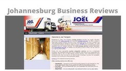 Joel Transport Reviews - Office and Household Movers South Africa