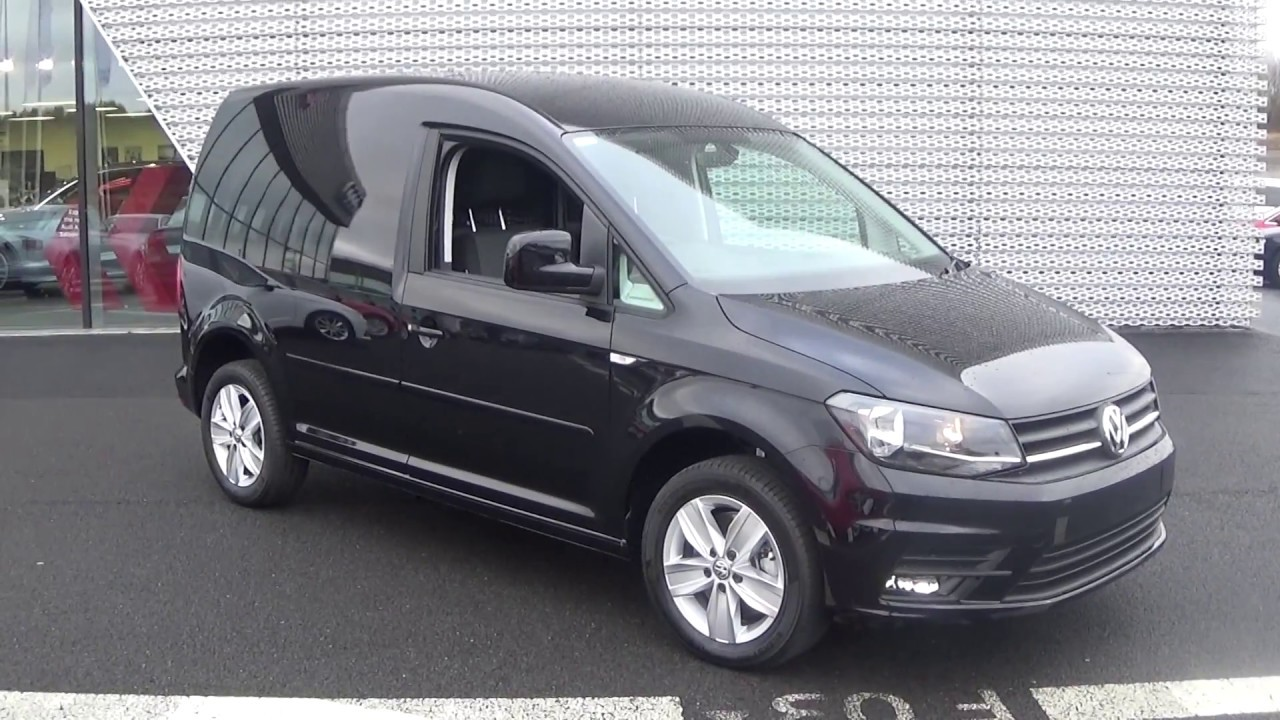 16debbc9fb4296 CMG VW SLIGO  NEW 2017 VW Caddy Van 2.0TDI Highline 150BHP - YouTube