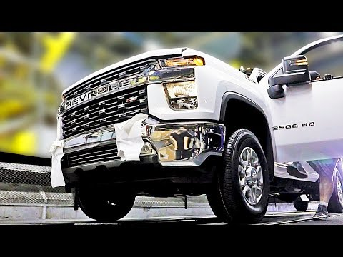 Pickup Truck Factory – 2020 Chevrolet Silverado and 2020 GMC Sierra