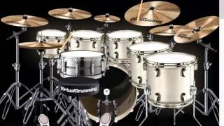 Gambar cover ost doraemon virtual drum cover