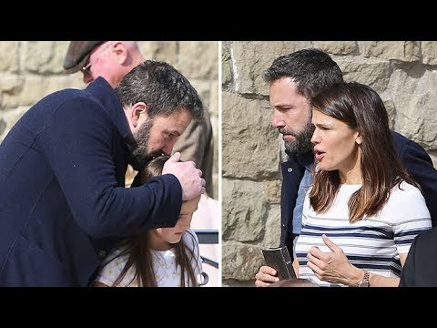 Ben Affleck And Jennifer Garner Reunite For Church