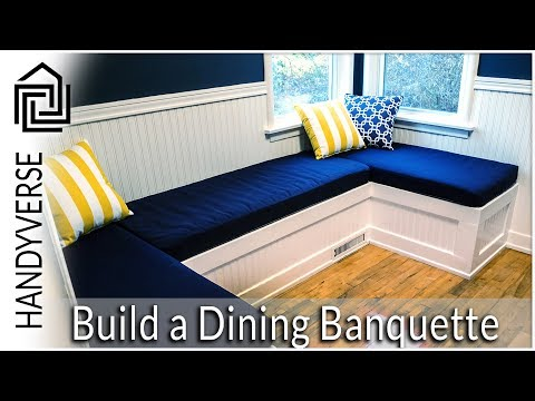 How to Build a Dining Nook/Banquette : Budget Renos #01