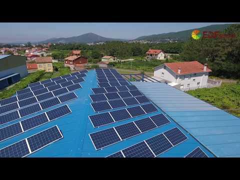 Instalación de autoconsumo industrial en Distribuciones Lema (Pontevedra) - EDF Solar