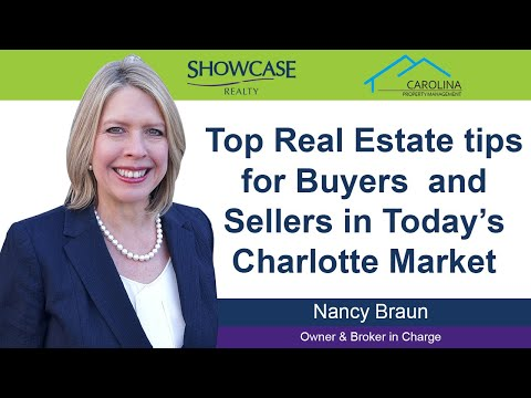 top-real-estate-tips-for-buyers-and-sellers-in-today's-charlotte-market