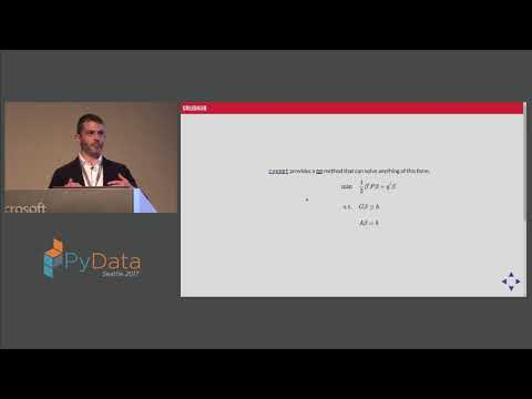 Ryan J. O'Neil - Practical Optimization for Stats Nerds