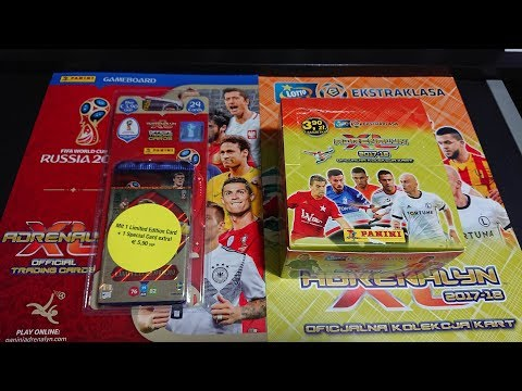 POJEDYNEK PANINI FIFA WORLD CUP RUSSIA 2018 VS LOTTO EKSTRAKLASA 17/18