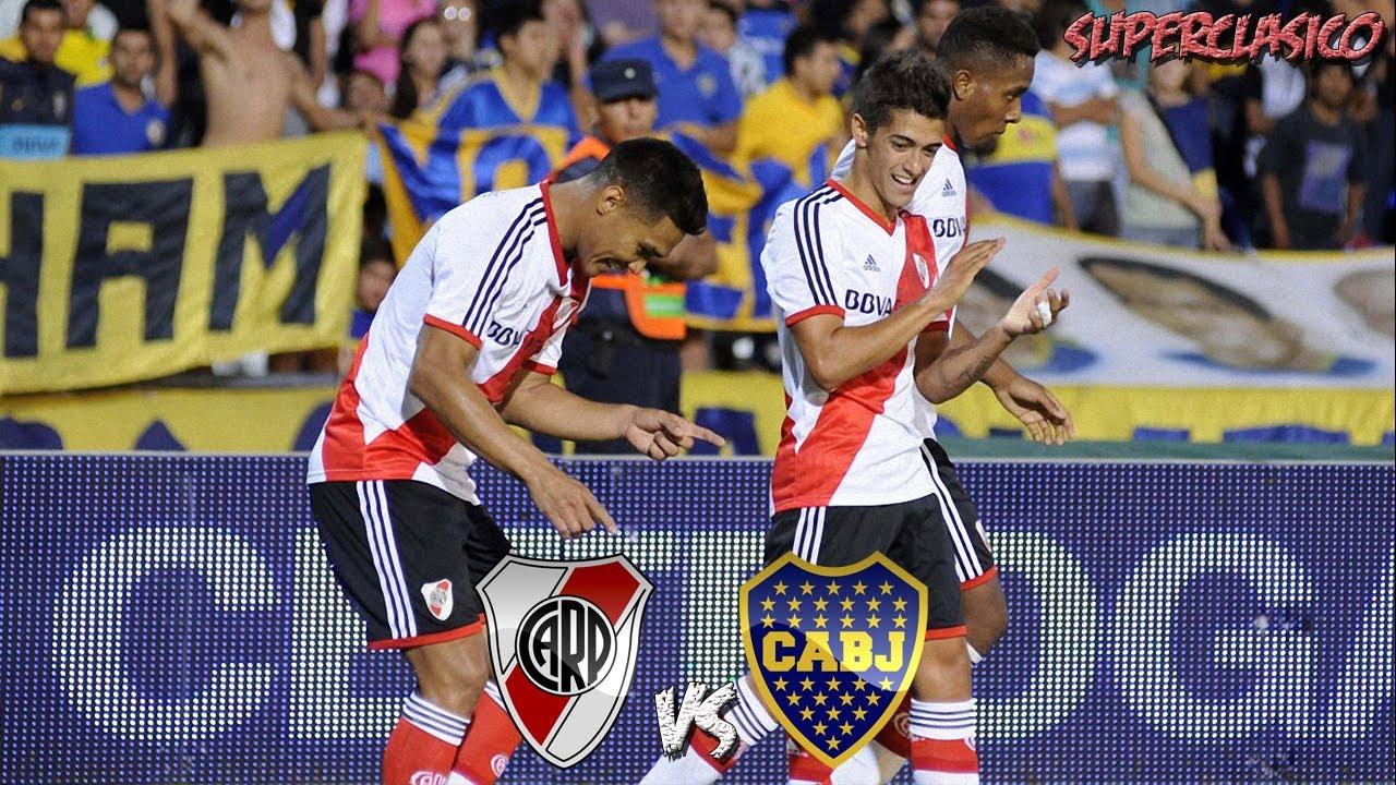 River Plate 2 vs Boca Jrs 1  Torneo de Verano 2014  Mendoza