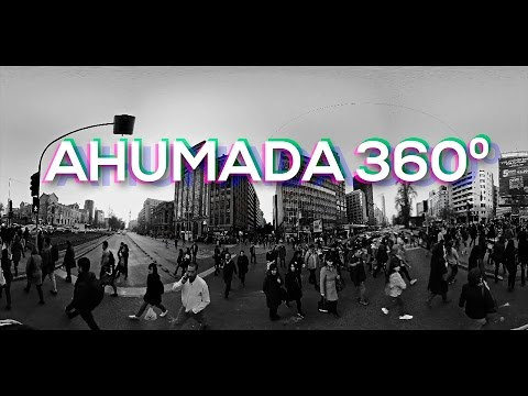 360 grados Ahumada,Chile - Gas Media VR 4k